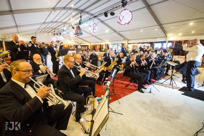 2016 - K&G 3 tijdens opening drijvende Kerstmarkt in Leiden