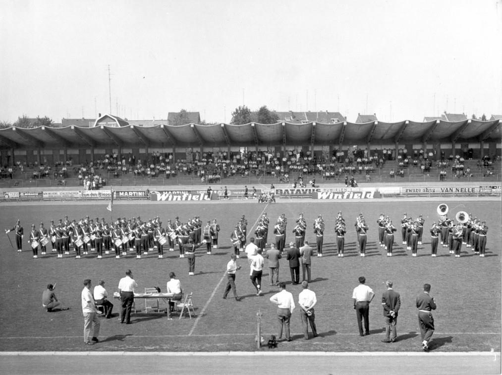 K&G tijdens het WMC in 1966, het stilstaande werk