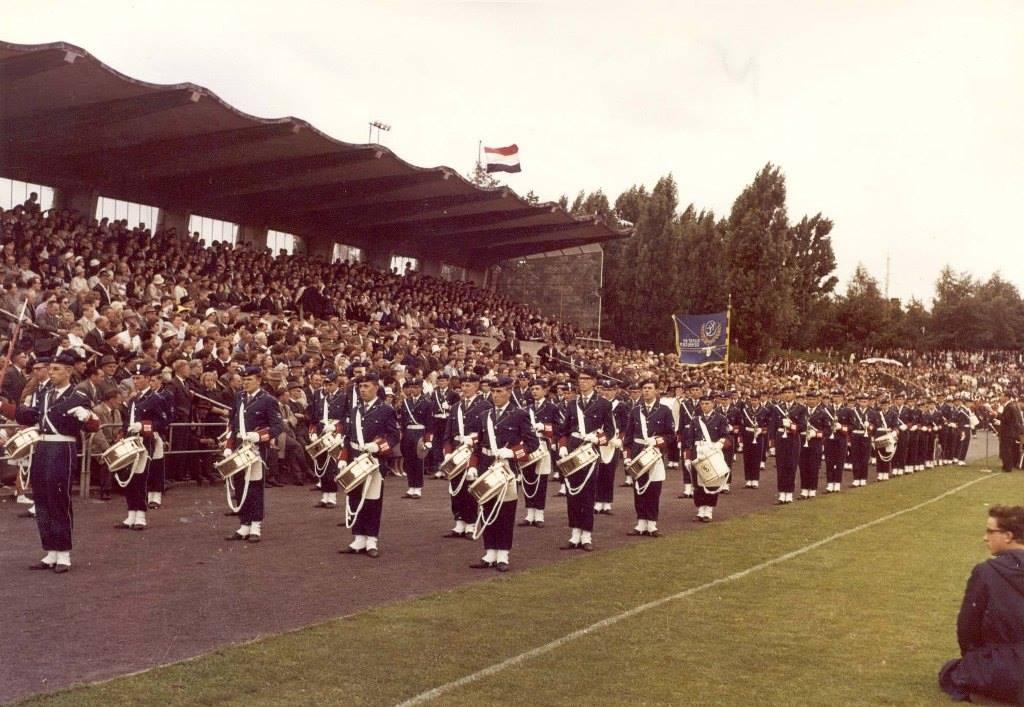K&G tijdens de eerste deelname aan het WMC in 1962