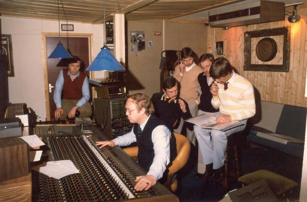 1982 - Mixage LP bij Mirasound met o.a. Nico de Jeu en Joop Peters
