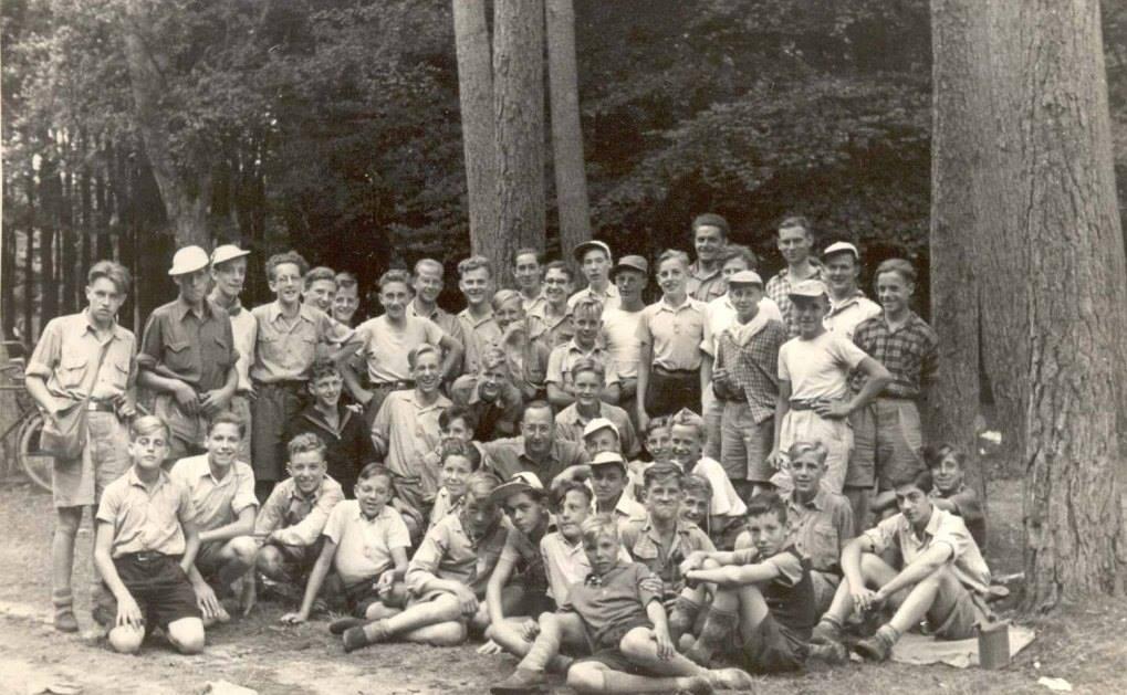 1951 - Hoenderloo, kamp Spelderholt