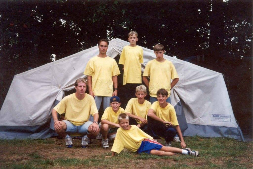 1995 - Kampers in Schaijk