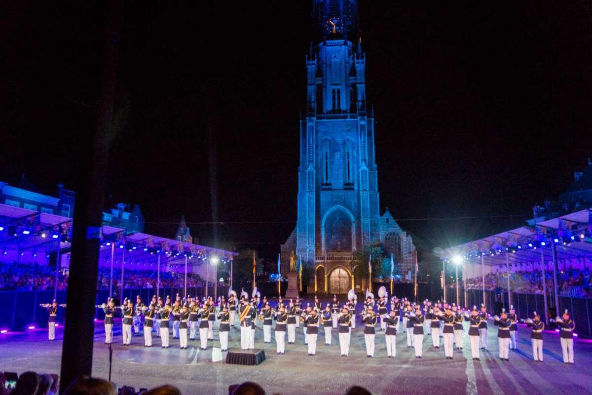 S&MB tijdens Taptoe Delft in 2016