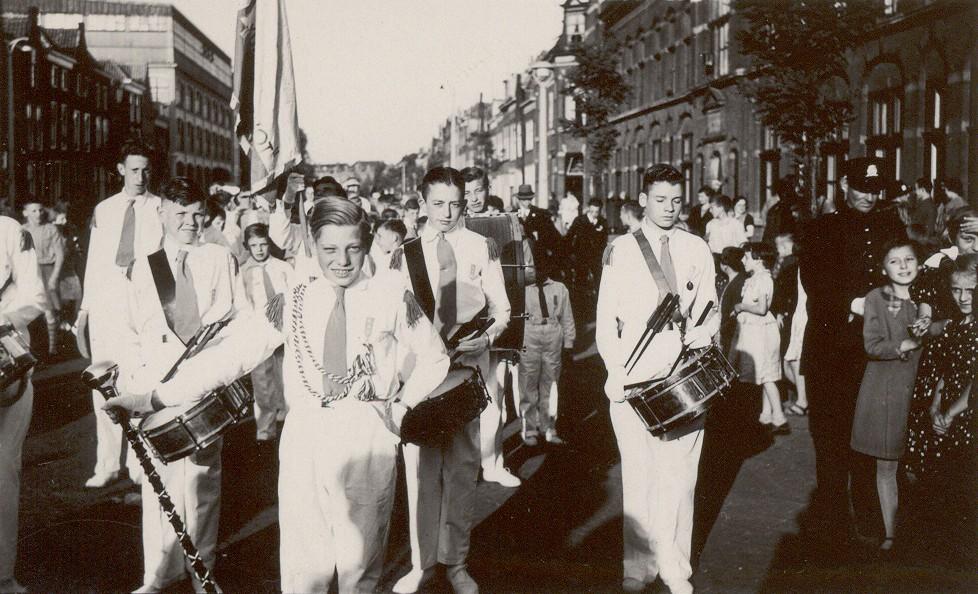 K&G tijdens een optreden in Leiden in 1938