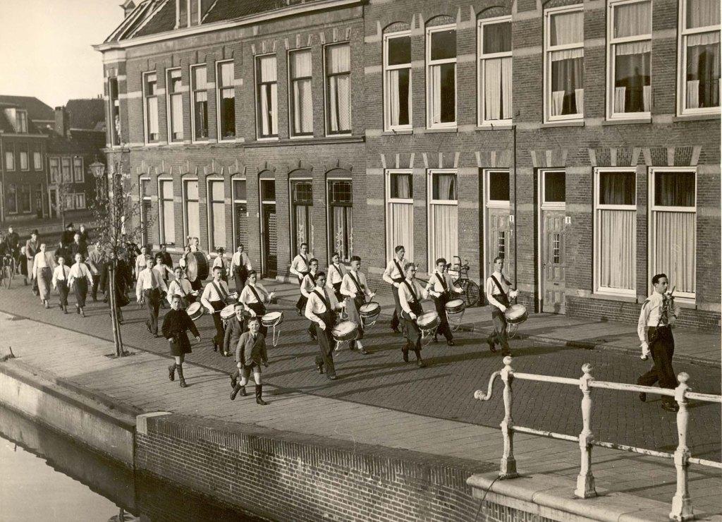 K&G tijdens een optreden in Leiden