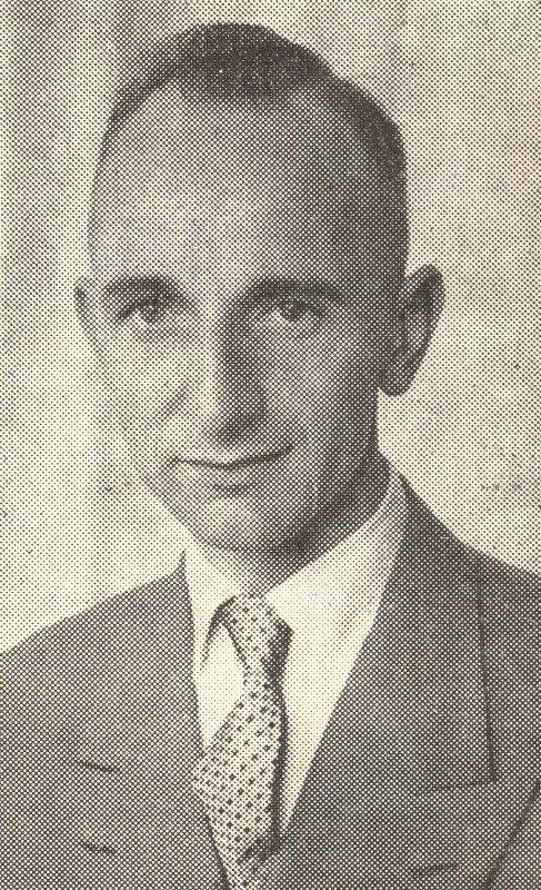De heer A.J. Peetoom, de eerste professionele houtinstructeur bij K&G