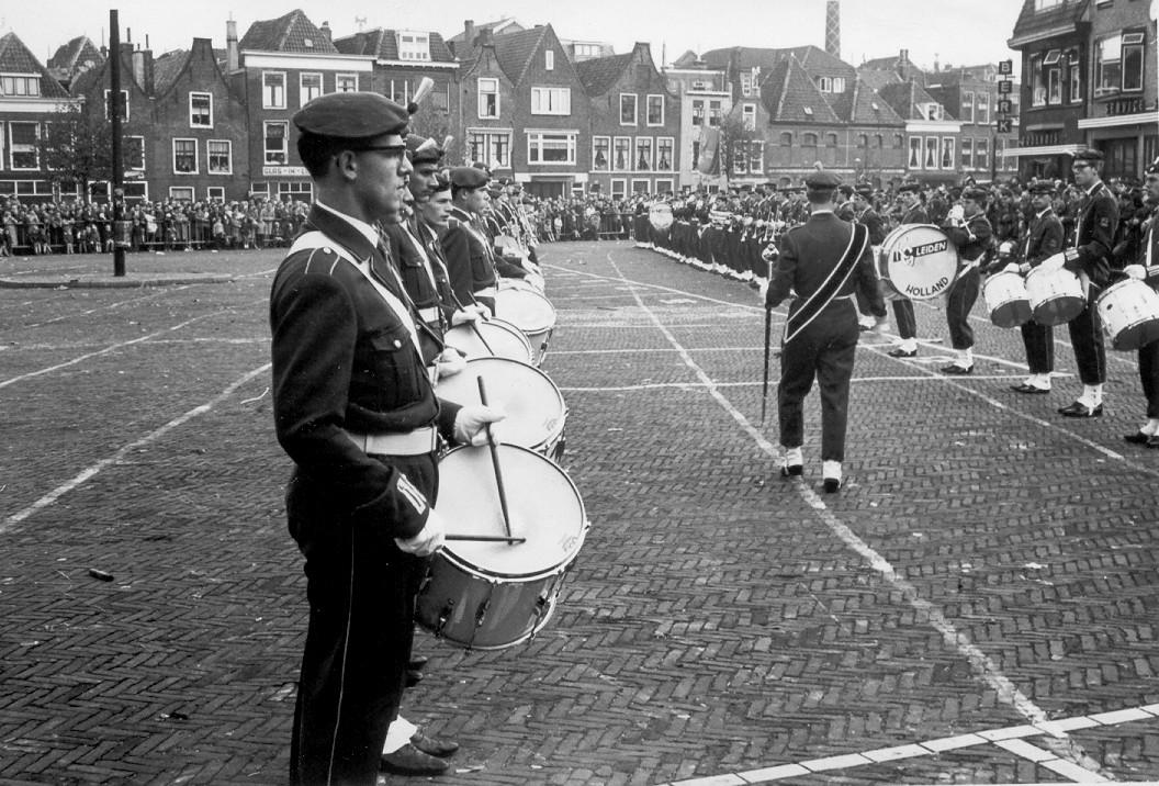 2 Oktober 1965, K&G op de Kaasmarkt in Leiden